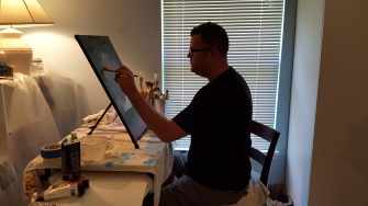 Michael J McGuire, Local Artist in Noblesville, Indiana