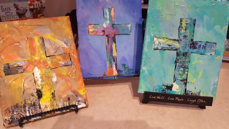 Set of 3 Crosses SOLD