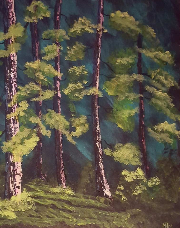 Woodland Path 16x20 SOLD