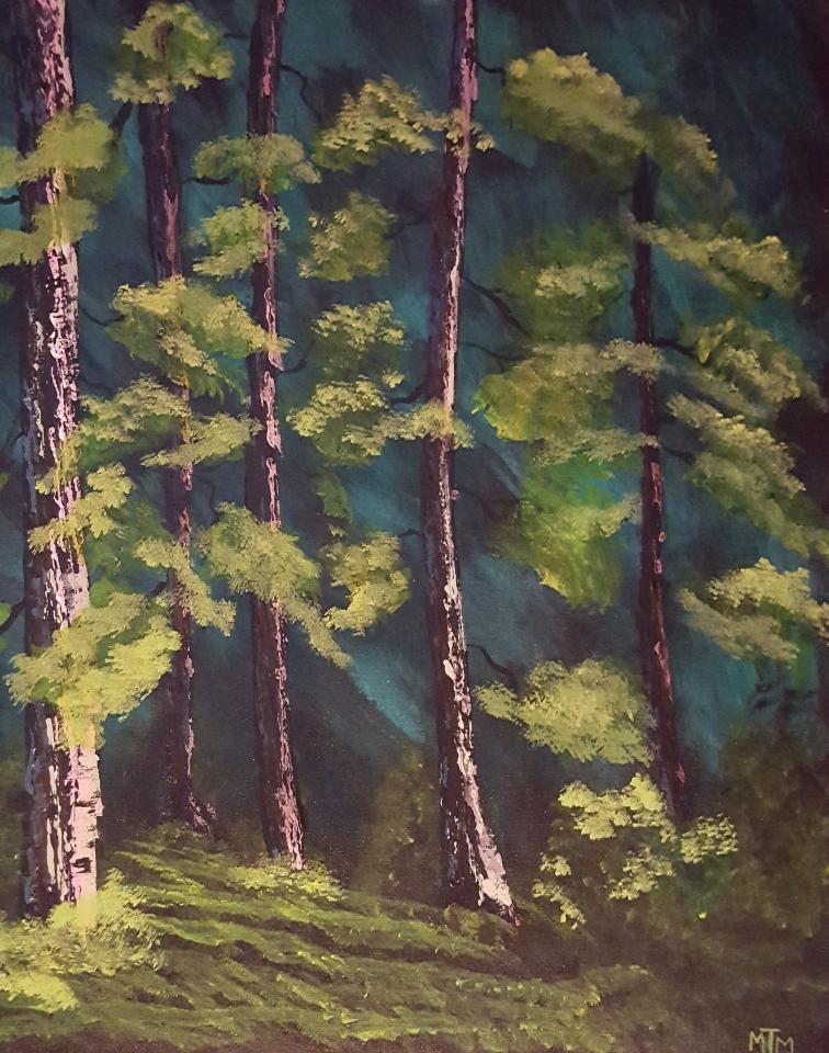 Woodland Path 16x20
