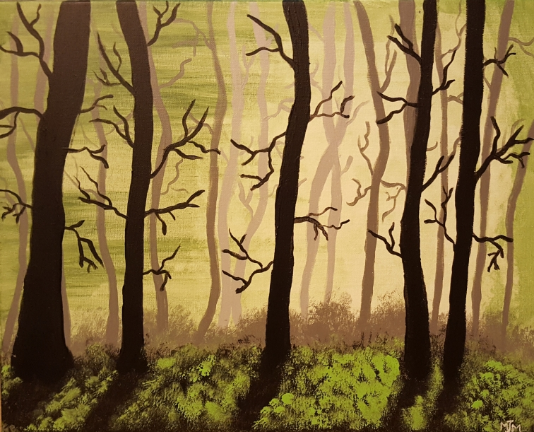 Into the Woods 20x16