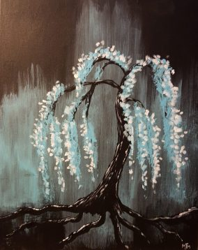 Weeping Willow 16x20 SOLD