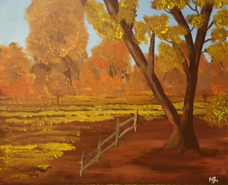 Fall Harvest 20x16