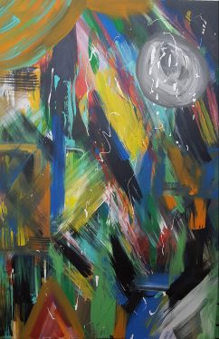 Beams of Light 24x36 SOLD
