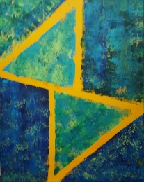 Expression of Angles 24x30 SOLD