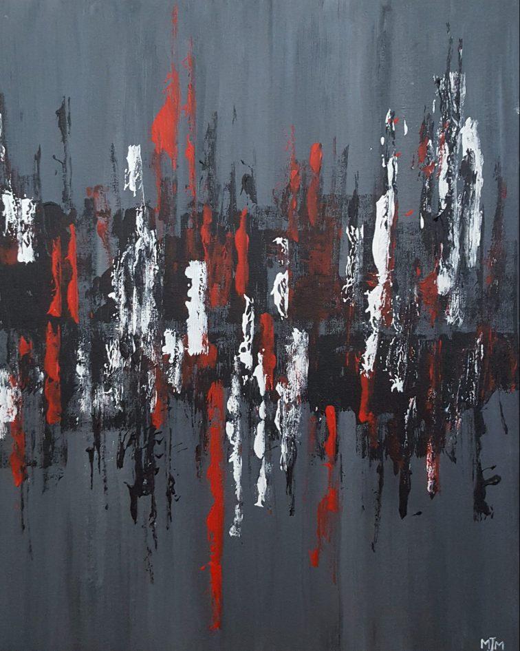 Dark Reflections 20x16