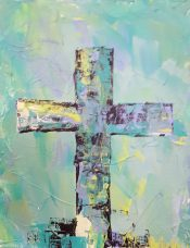 Green Cross 8x10 SOLD