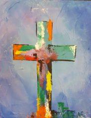 Blue Cross 8x10