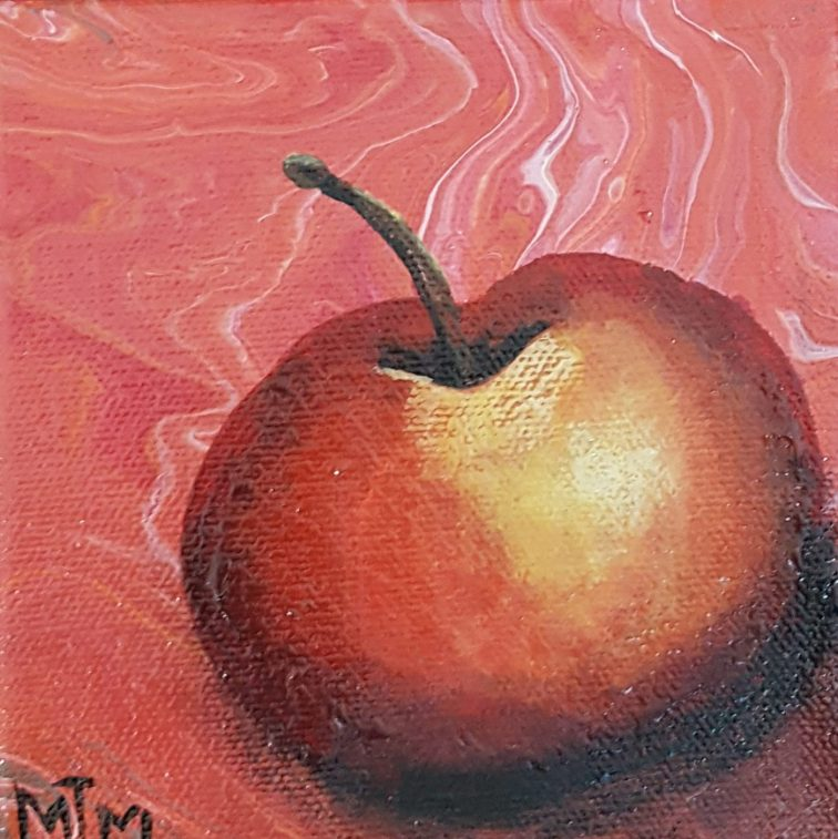 Red Apple 5x5