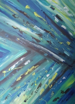 Chomp 36x48 SOLD