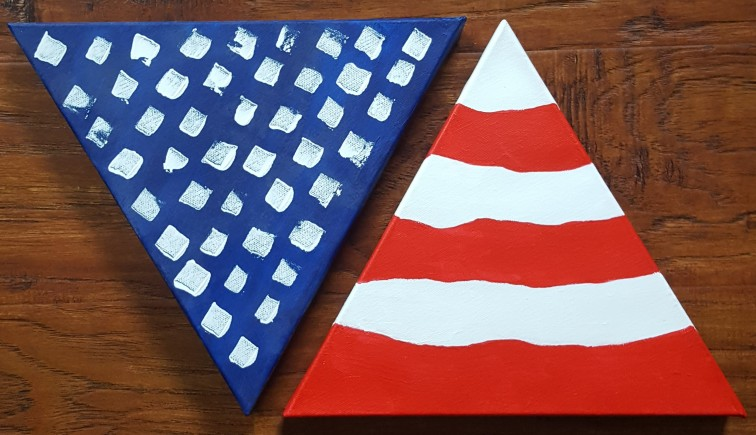 Triangle Flag 20x10 SOLD