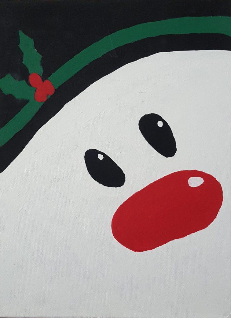 Snowman 12x16