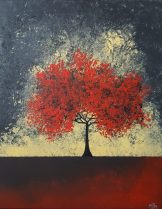 Twilight Red 16x20 SOLD