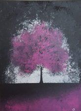 Twilight Magenta 18x24 SOLD