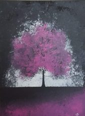 Twilight Magenta 18x24 SOLD