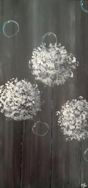 Dark Allium 10x20 SOLD