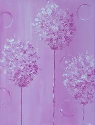 Pink Giant Allium 12x16