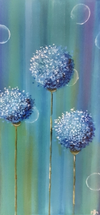 Blue Giant Allium 10x20 SOLD