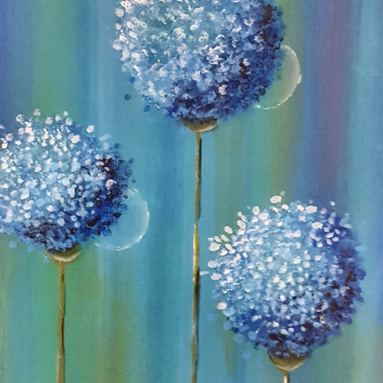 Blue Giant Allium 10x20