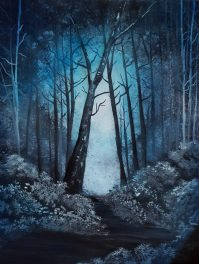 Enchanted Passage 22x28 SOLD