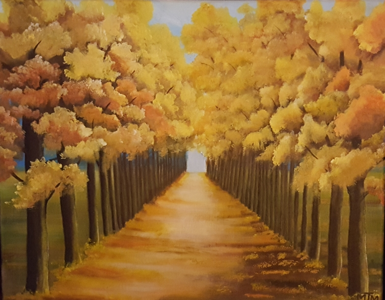 Peaceful Pathway 20x16