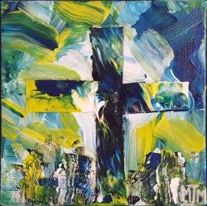 Towering Cross 6x6 SOLD