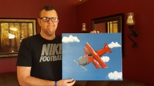 Airplane Commissioned 20x16 SOLD