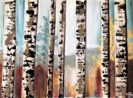 7 Birch Trees SOLD