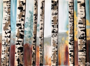 7 Birch Trees SOLD