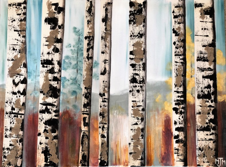 7 Birch Trees