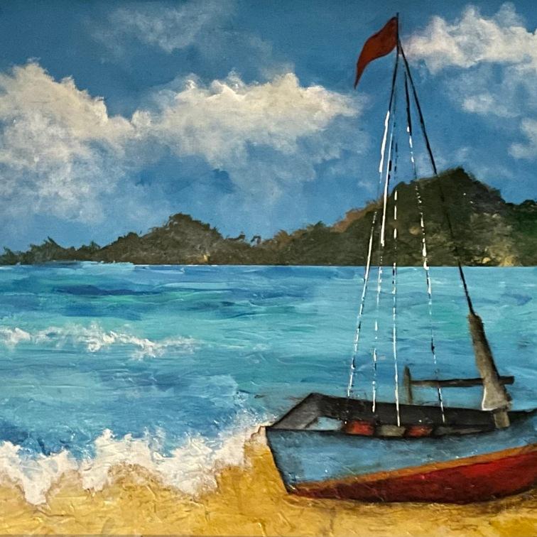 Hawaiian Coastline 20x16