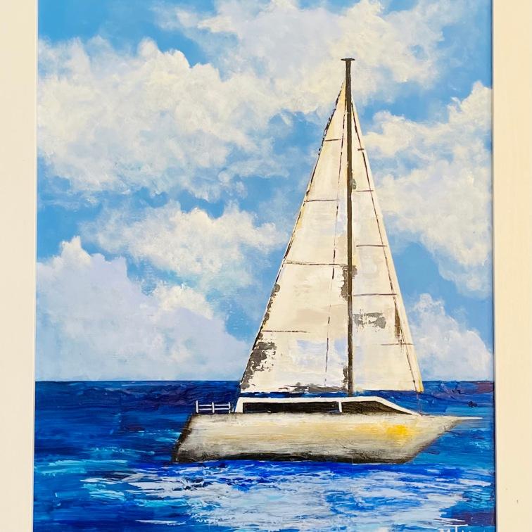 The Joy of Sailing 16x20