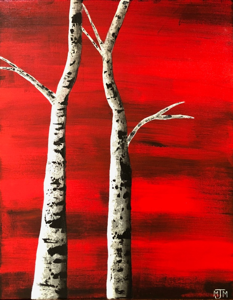 Birch Mates 16x20