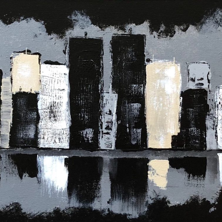 New York II 36x12
