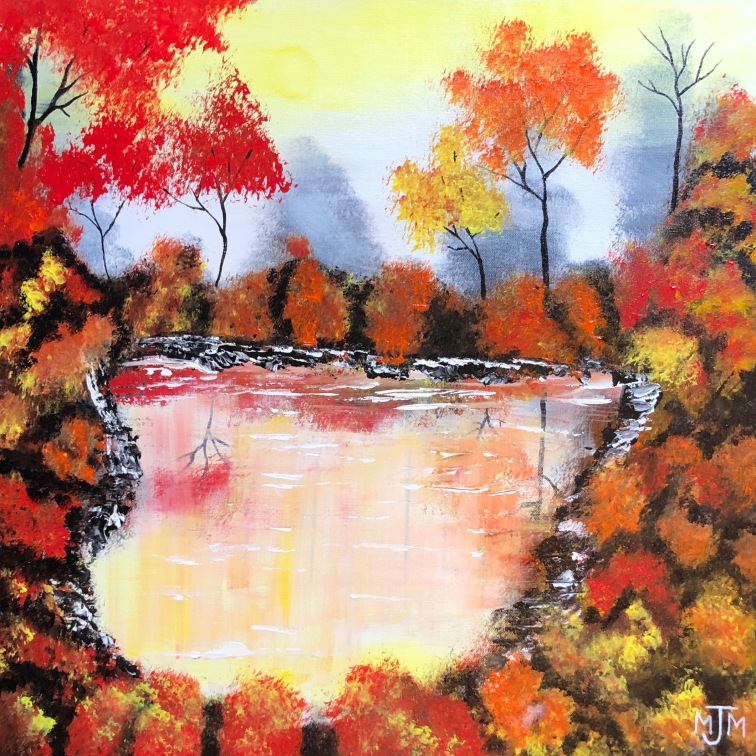 Autumn Reflections 24x24