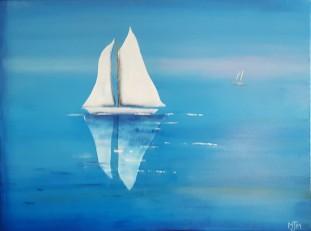Morning Sail 24x18