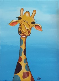 Giraffe Commissioned SOLD