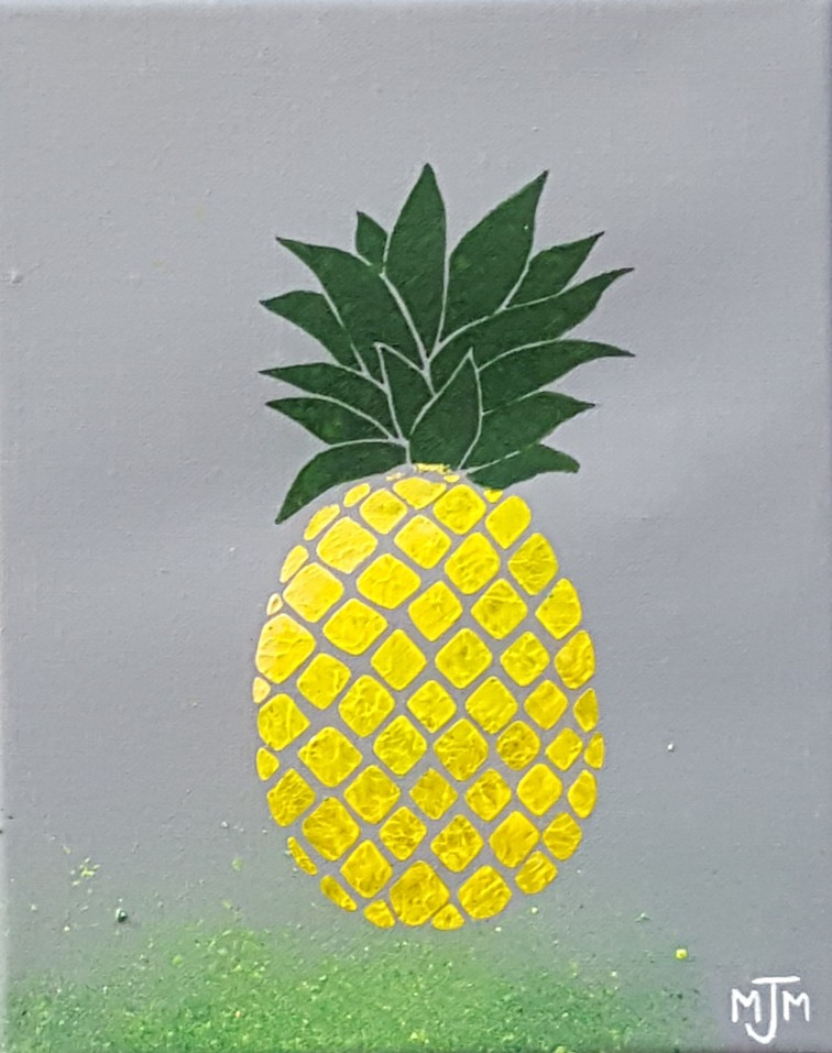Pineapple 8x10 SOLD