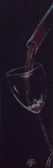 Wine Tasting 12x4 SOLD