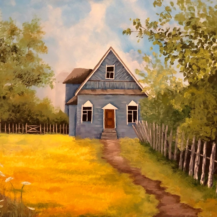 Country Home 24x20