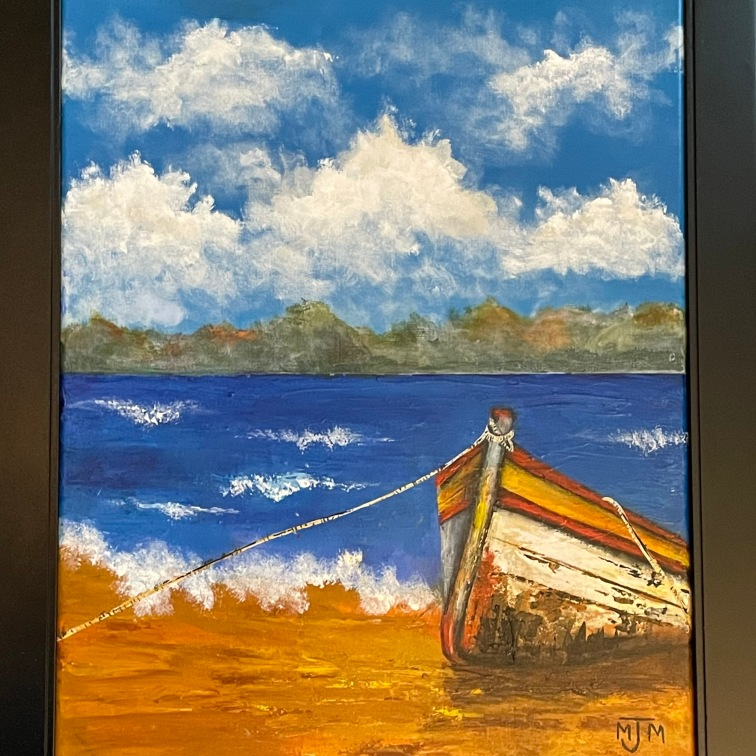 The Old Boat 16x20